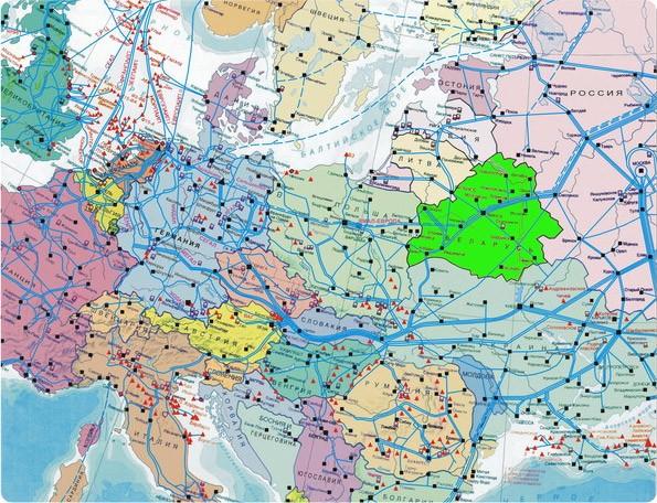 Карта транспортировки